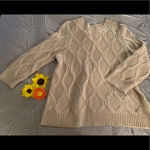 Tan Old Navy Sweater